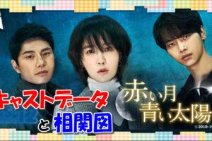 韓国ドラマ【赤い月青い太陽】キャストと相関図、あらすじと視聴者の感想も!